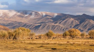 mountains in Western Mongolia