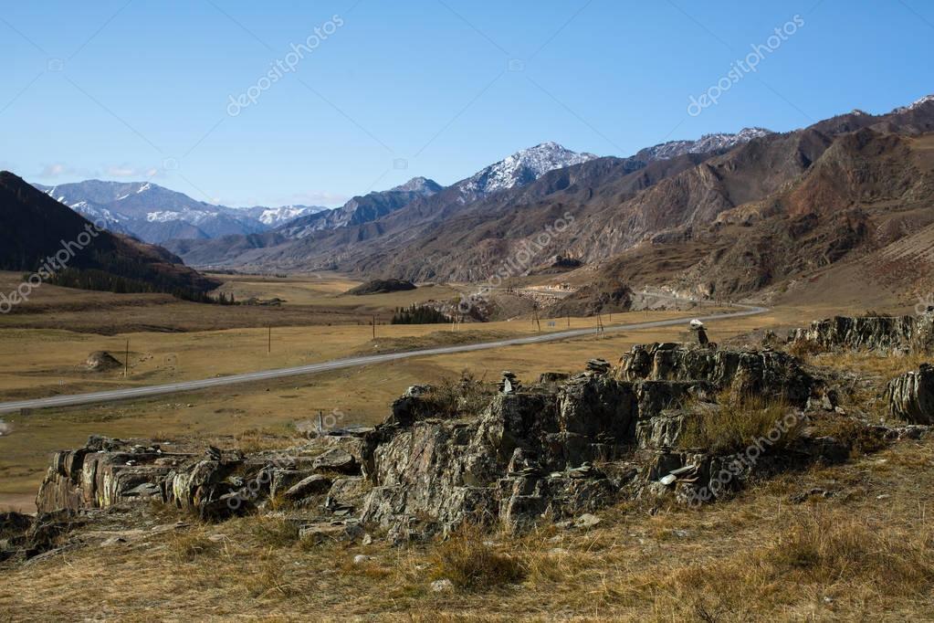 Tract Kalbak-Tash and Chuya Highway