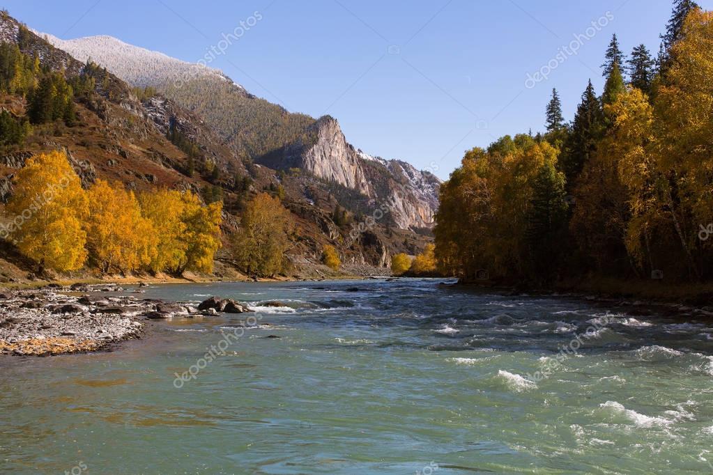 Katun River, Altai Republic, Russia.