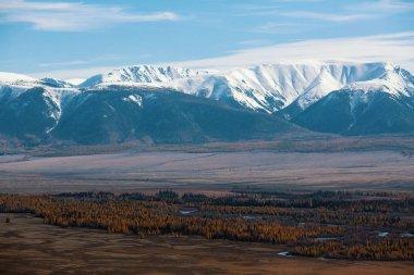 Landscape of the Altai mountains in Altai Republic, Russia.