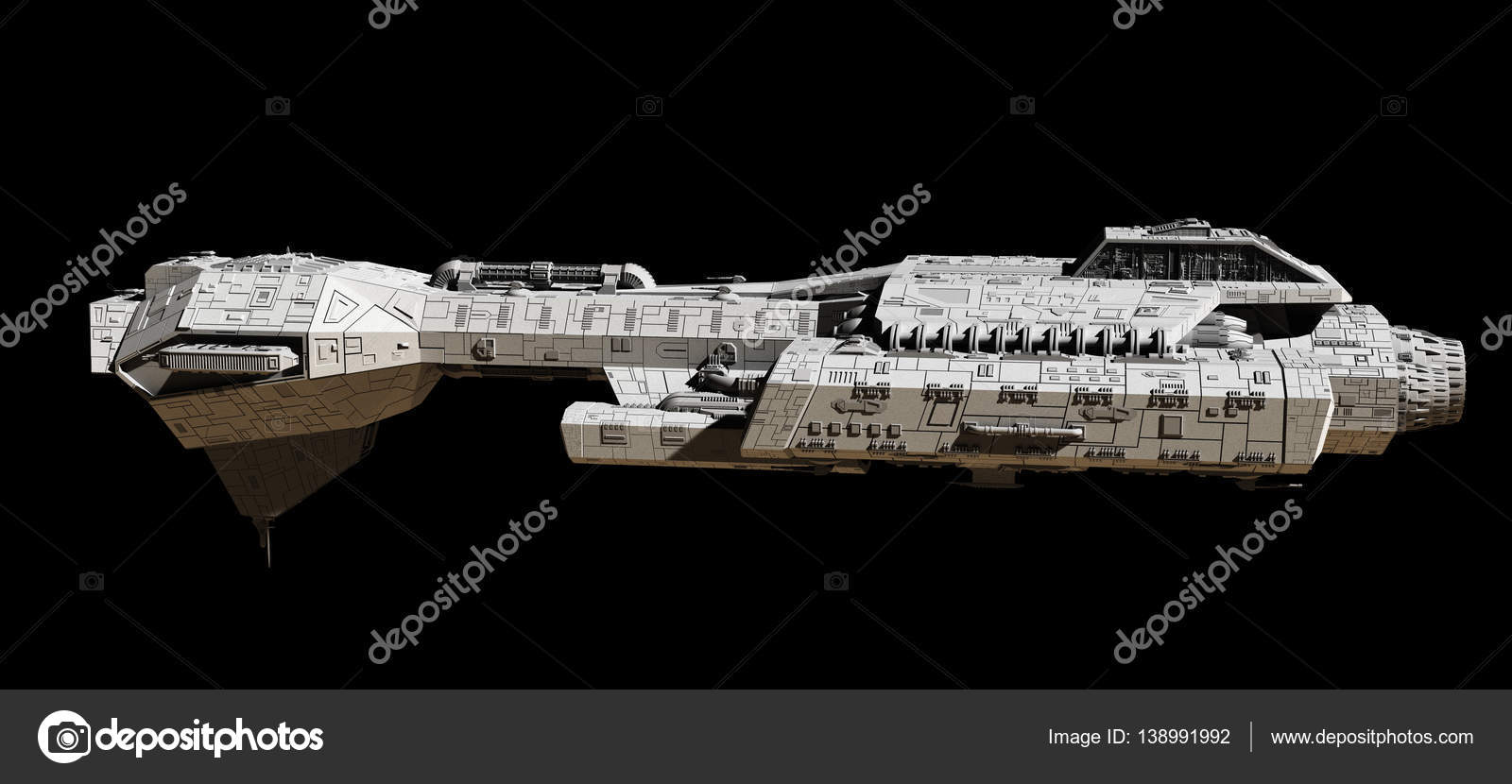 space ship on black side view u2014 stock photo algolonline 138991992