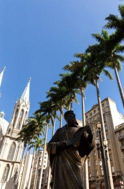 Se Church in Sao Paulo
