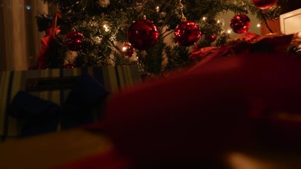 vánoční stromeček s dárky