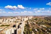 Fotografie Rušné město s obytných budov v Ribeirao Preto, Brazílie