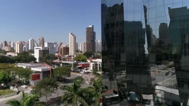 Létání nad Faria Lima v Sao Paulu