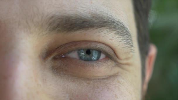 Lidské oči, mužský pohled