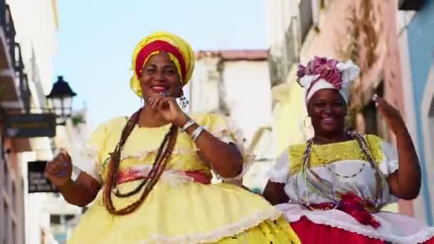 Brazilské ženy Baiana tanec
