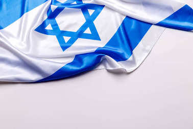 Authentic flag of the Israel