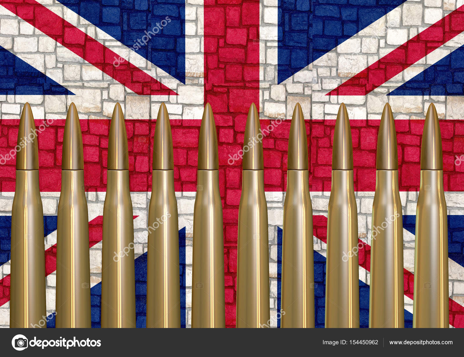 Atentado terrorista en Inglaterra, render 3d — Foto de stock ...