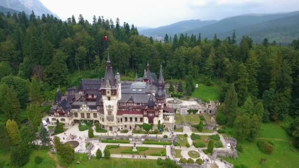 Peles Castle in forest 4