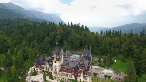 Peles Castle in forest 3