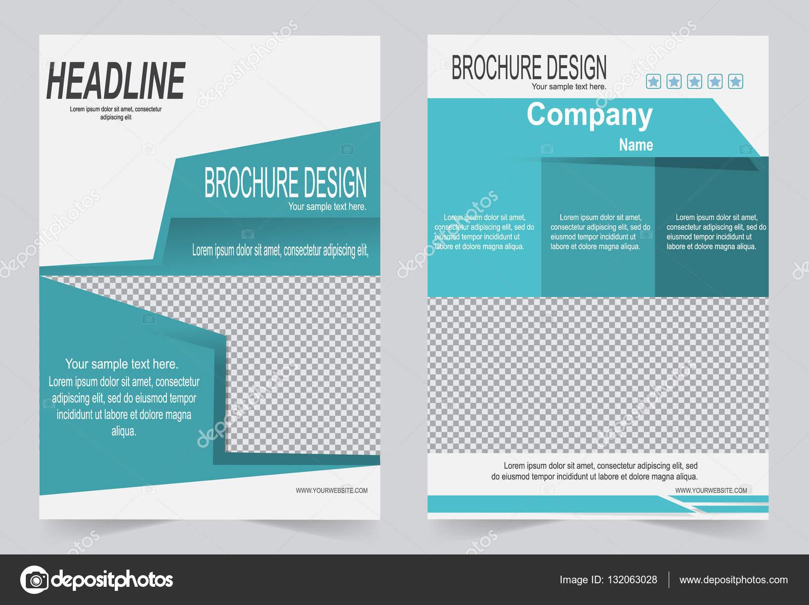 Broschüre-Vorlage, Flyer Design — Stockvektor © keath369 #132063028