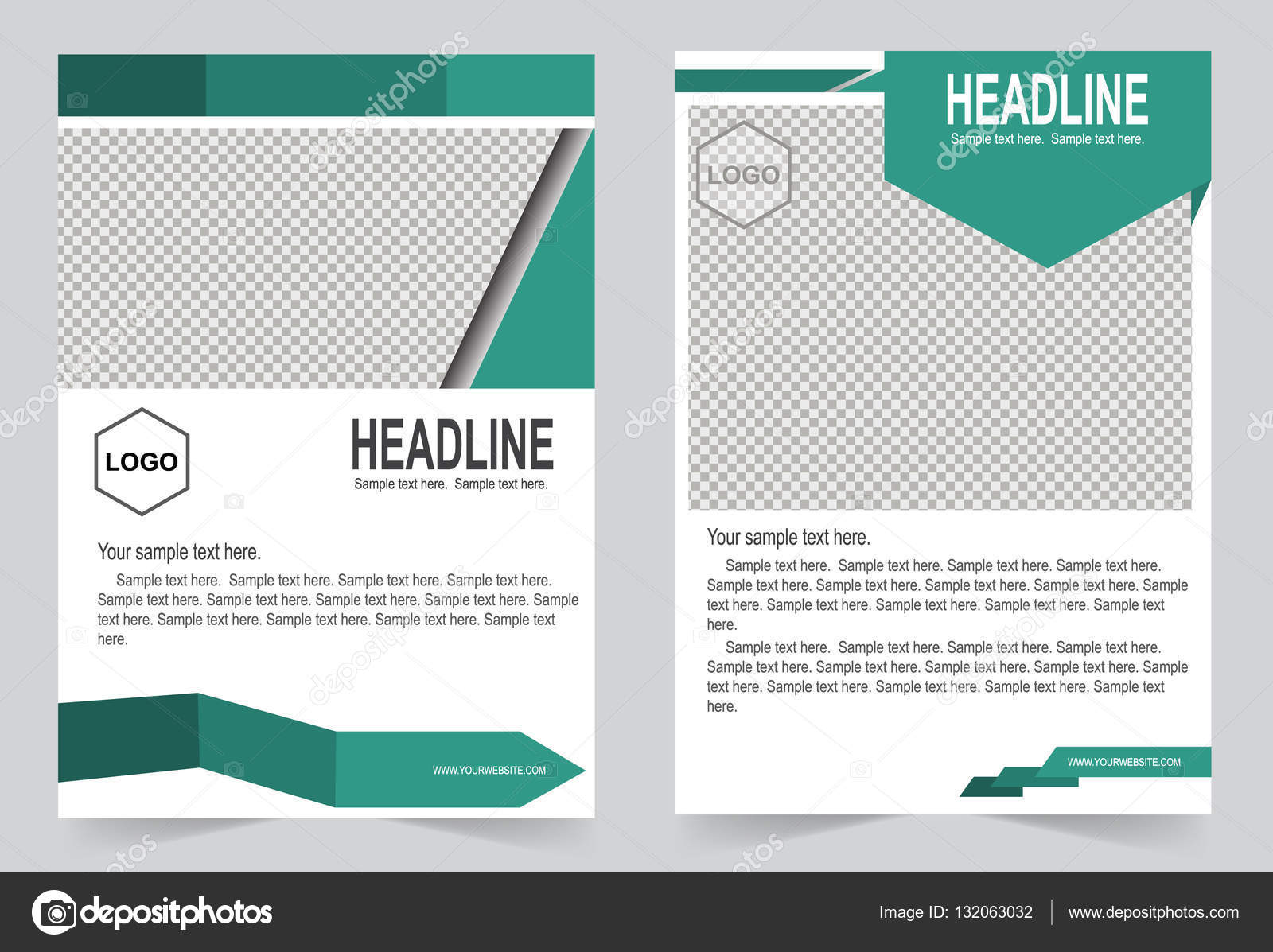 Broschüre-Vorlage, Flyer Design — Stockvektor © keath369 #132063032