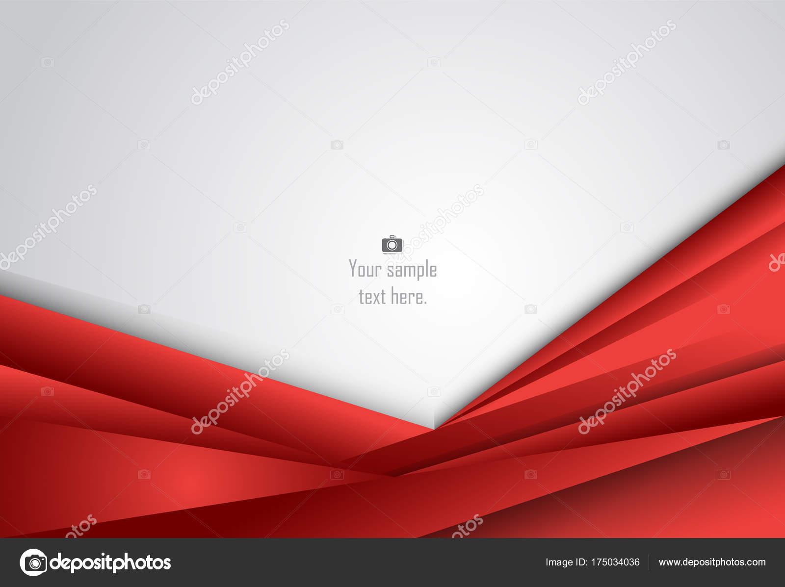 Rojo y negro Resumen fondo geométrico capa para tarjeta, ann ...