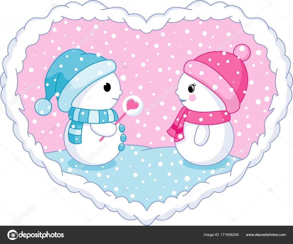 Muñeco De Nieve En El Amor