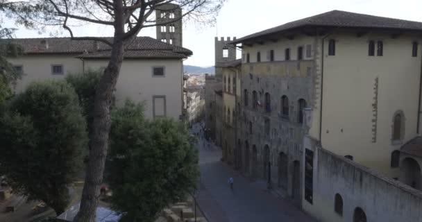 Corso Italia street. Arezzo, Tuscany (Italy)