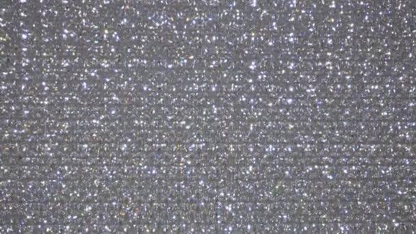 Třpytivý krystal bezešvé smyčka texturu pozadí, módní nebo Vánoce a vánoční sezónu návrhy