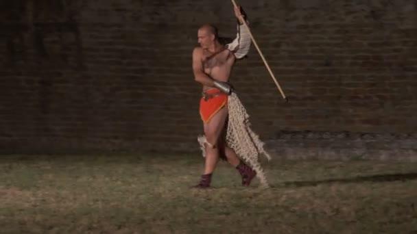 Römischer Gladiator pensionarius