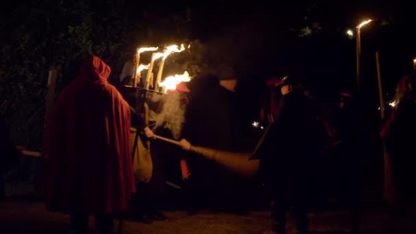 Noční lovení čarodějnic Pomalý pohyb