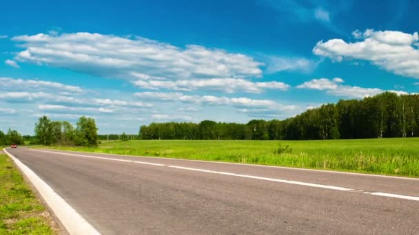silnice a louky
