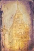 London art texture illustration