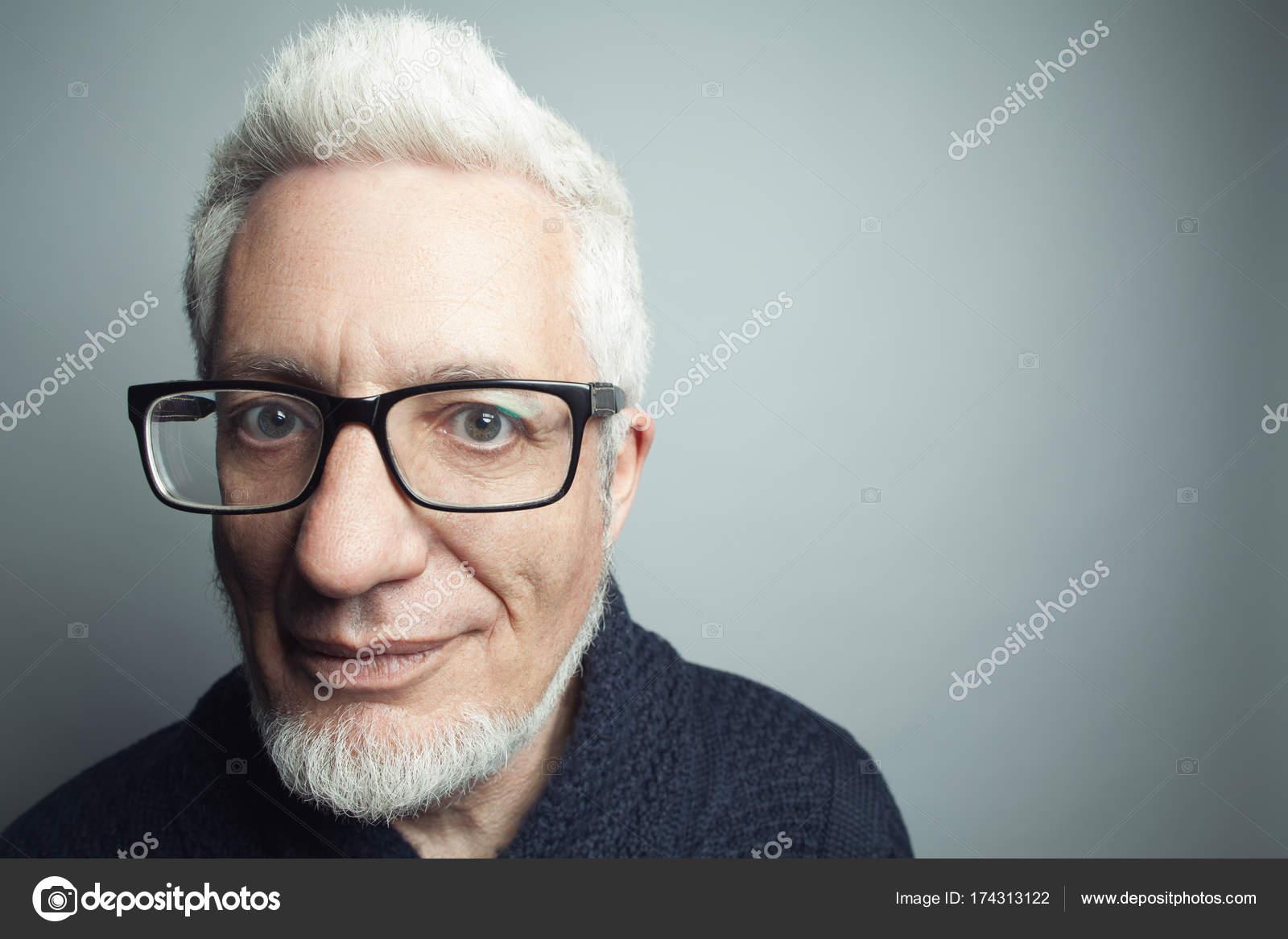 Fabelhafte In Jedem Alter Brillen Konzept Portrait Von Modischen