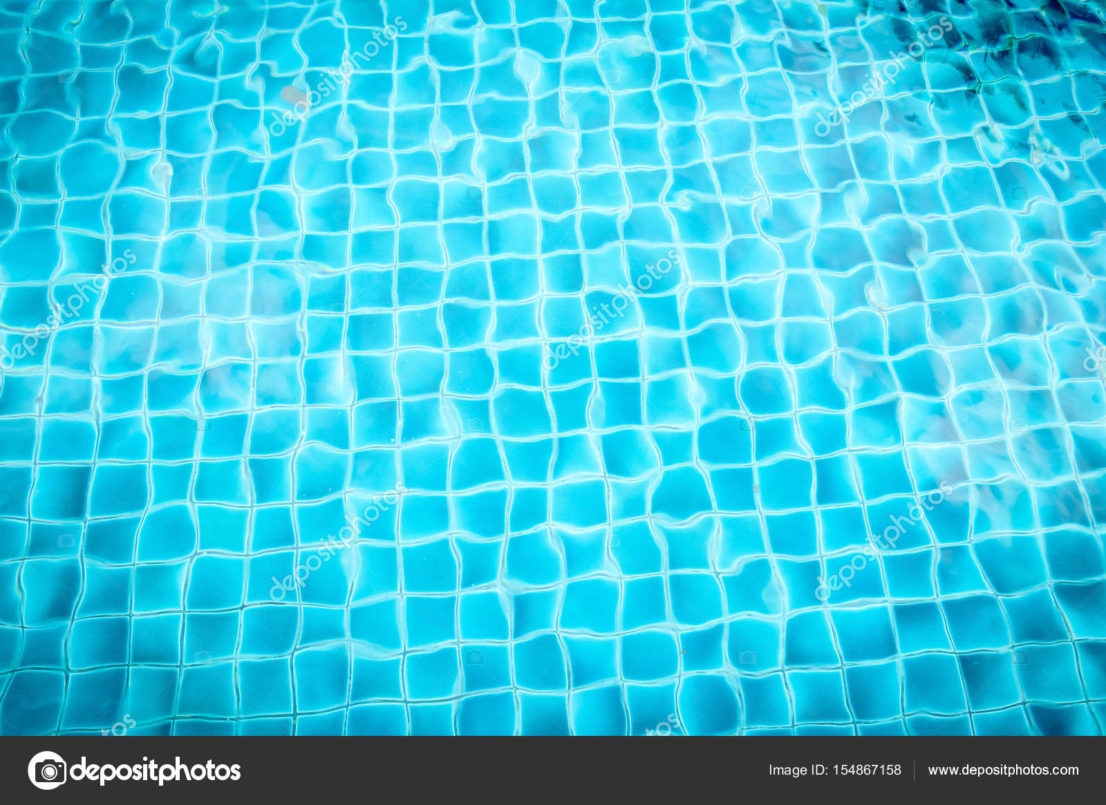 pool with blue ceramic tiles — Stock Photo © jiggo_thekop #154867158