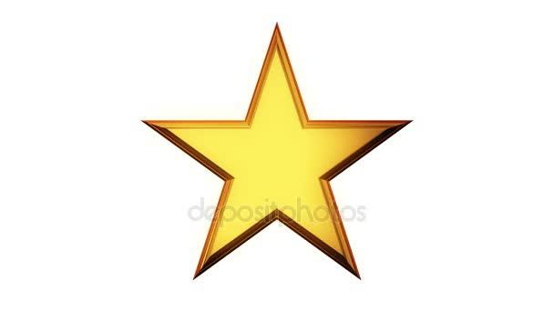 Zlatá hvězda otáčení
