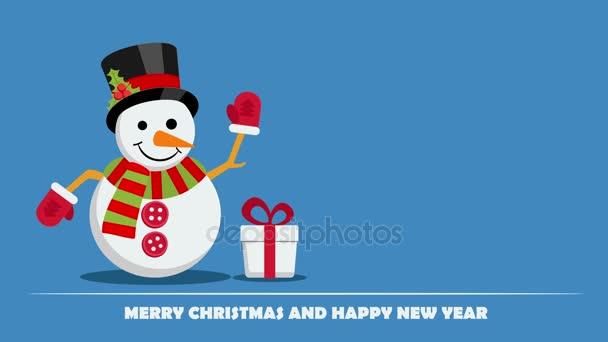 Sněhulák na Štědrý den