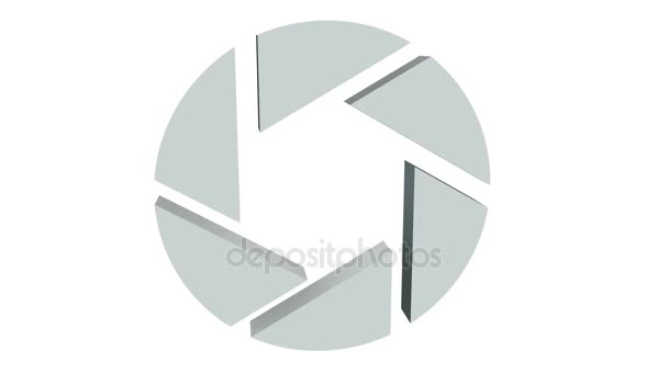 Clony clona logo otočit na bílém