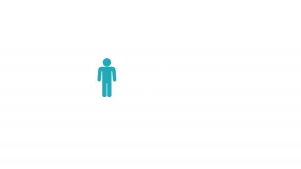 Sociální média člověka infografika