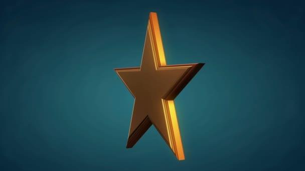 Golden star forgatás