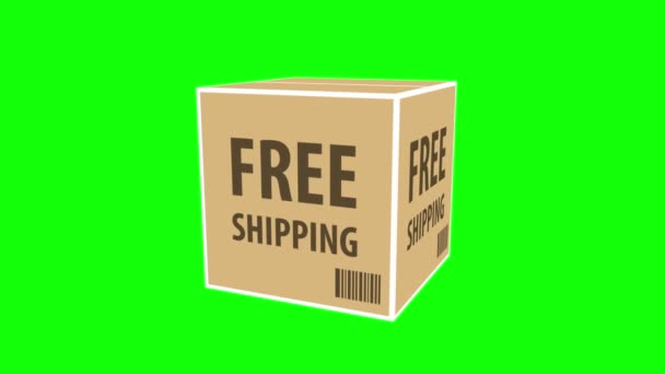 Box package free shipping service.