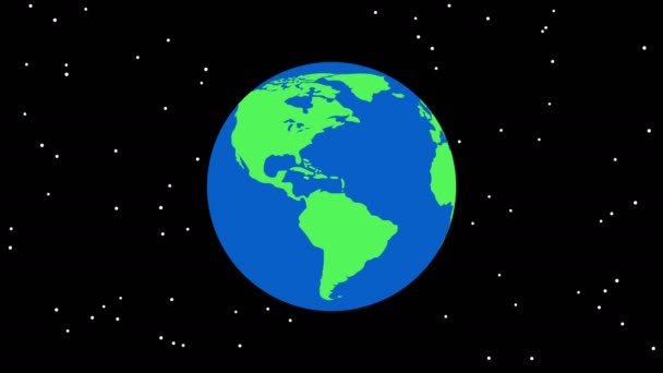 Earth Globe Cartoon