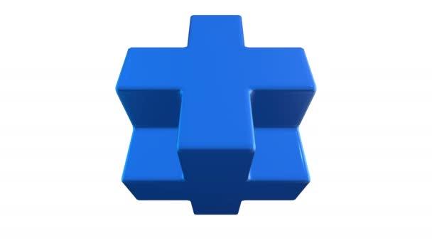 Necker Modrá kostka