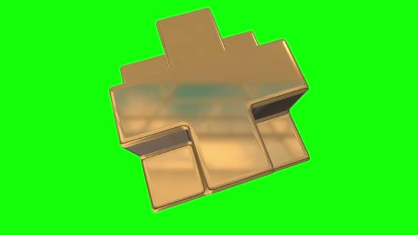 Zlaté Necker kostka