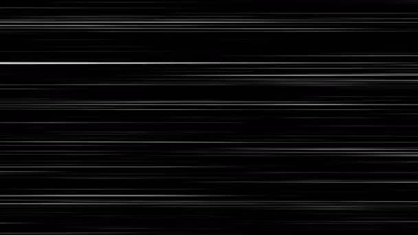 Vízszintes Anime Comic Speed vonalak fekete-fehér
