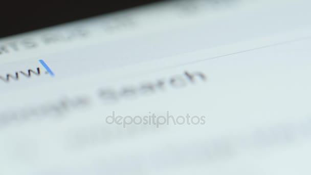 MACRO: Typing Yandex domain in browser bar