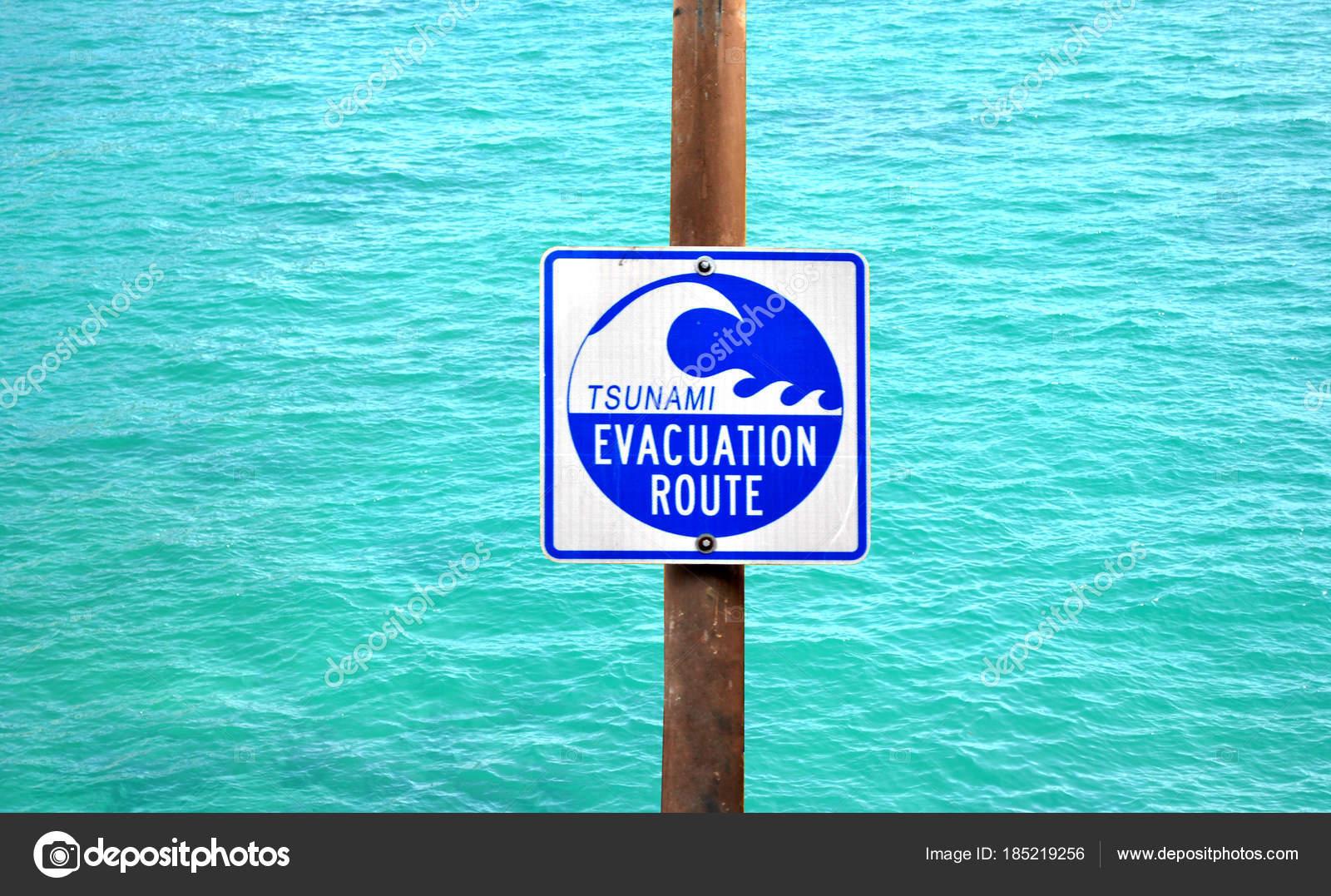 images tsunami warning sign tsunami warning sign