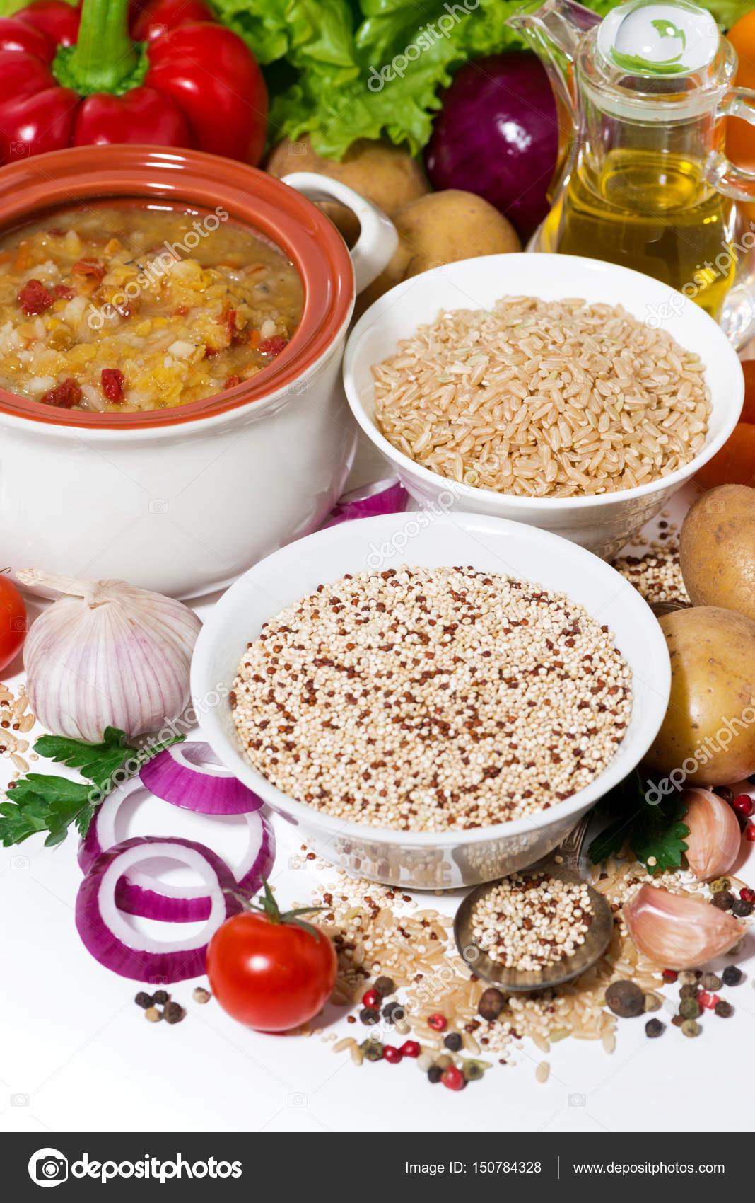 dieta quinoa e lenticchie