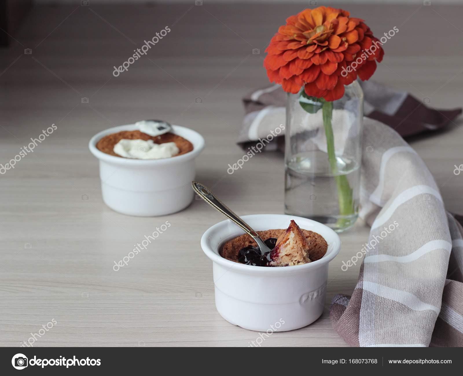 Hausgemachte Griess Pudding Mannik Traditionelle Russische Kuchen