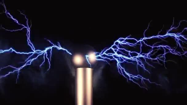 Elektrické tesla experimentu koncept