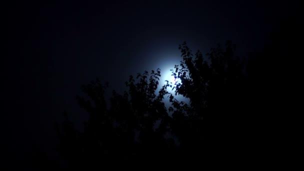 Čas mezi mraky a měsíc