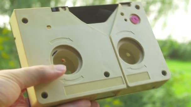 Retro kazeta hlavní video