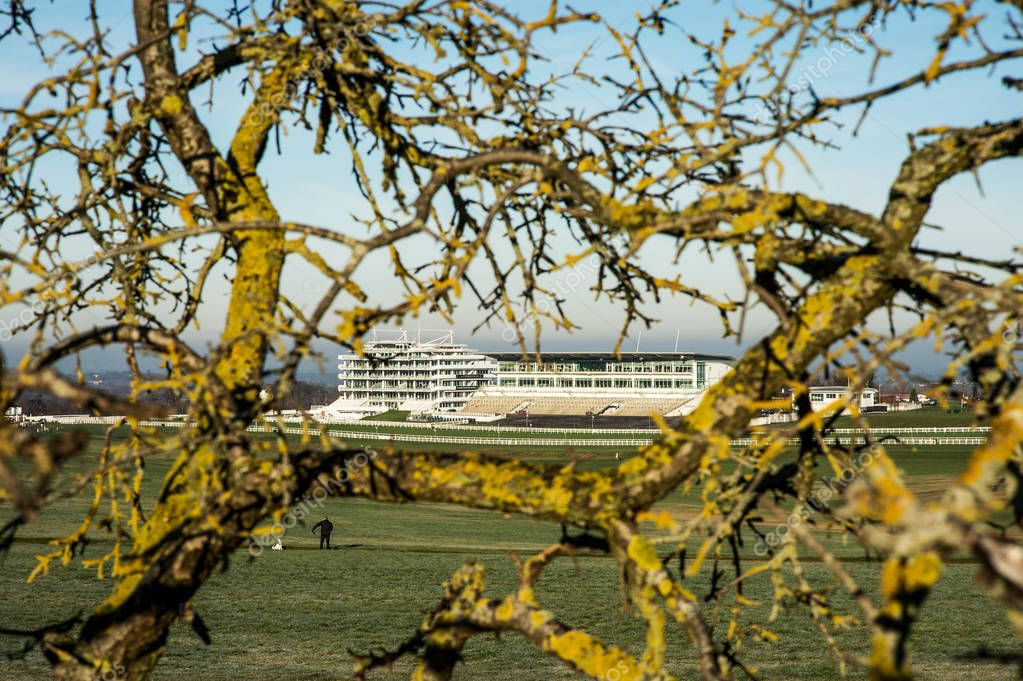 Epsom Racecourse Grandstand Home of the Classic Derby Horse Race