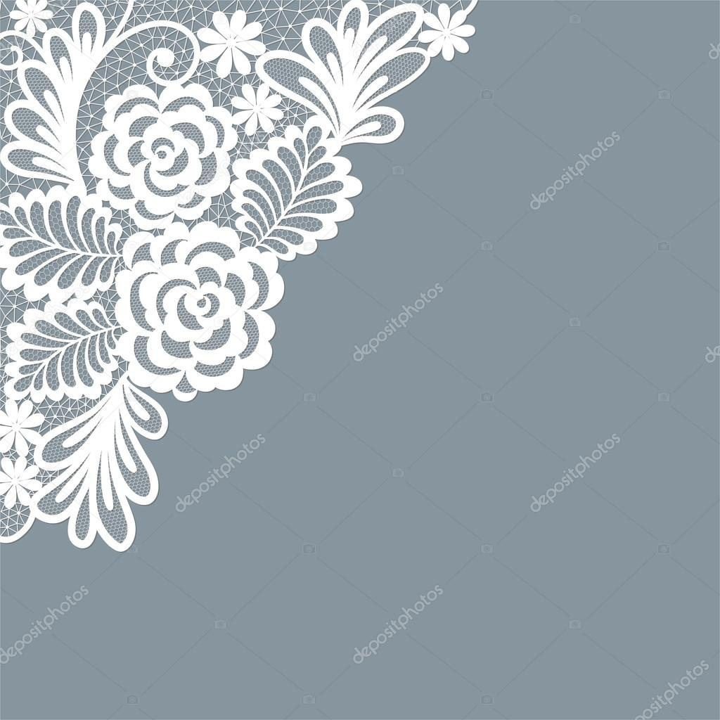 diseño de plantilla del marco para la tarjeta. tapete de encaje ...