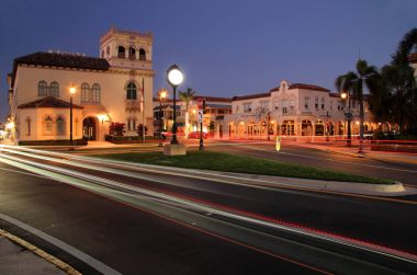 PALM BEACH, FL  FEBRUARY 12: The historic town of Palm Beach, seen here in late evening, serves as an international playground for the rich and famous February 12, 2017 in Palm Beach, FL.