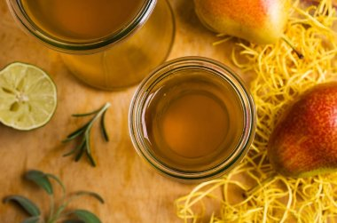 Homemade fruit vinegar