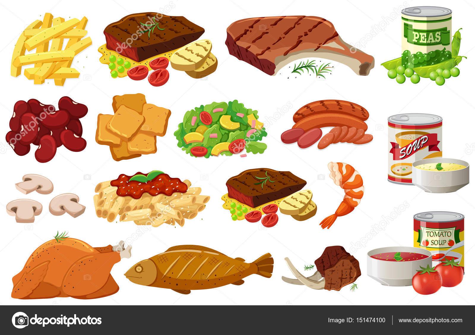 Diferentes Tipos De Alimentos Saludables