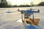DRONY quadrocopter Dji Phantom 3